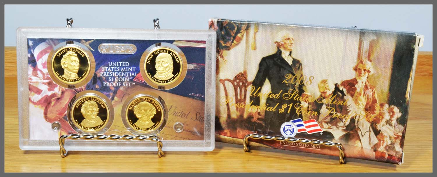 2008 Presidential Proof Set and Package
