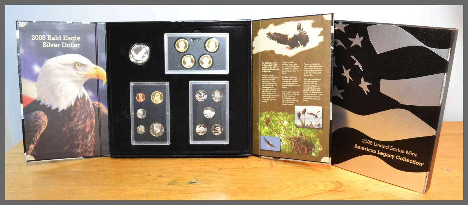 2008 American Legacy Proof Set and Package