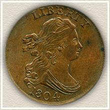 Rare 1804 Large Cent