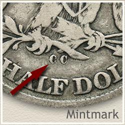 Seated Liberty Half Dollar Mintmark Location