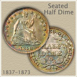 Uncirculated Seated Half Dime Value