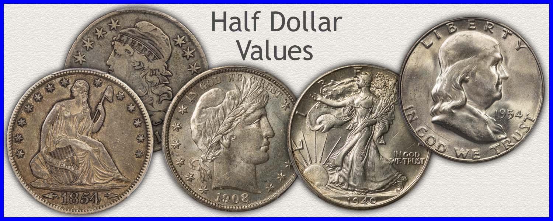 Visit....  Bust, Seated Liberty, Barber, Walking Liberty and Franklin Half Dollars