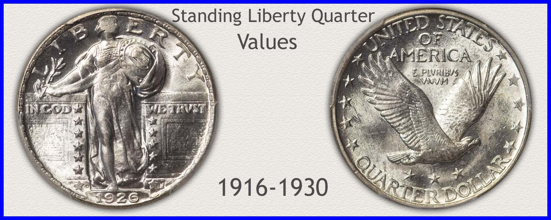 Go to...  Standing Liberty Quarter Values