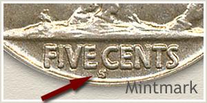 1915 S Mintmark Location