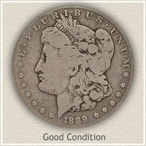 1889 Morgan Silver Dollar Good Condition