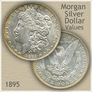 1895 Morgan Silver Dollar Value