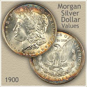 Uncirculated 1900 Morgan Silver Dollar Value