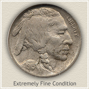 1915 Nickel Extremely Fine Condition