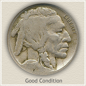 1918 Nickel Good Condition
