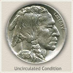 1918 Nickel Uncirculated Condition