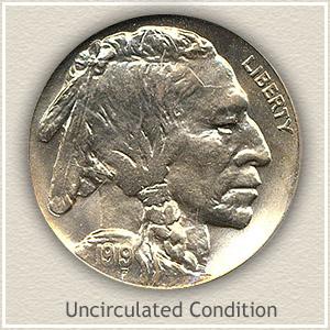 1919 Nickel Uncirculated Condition