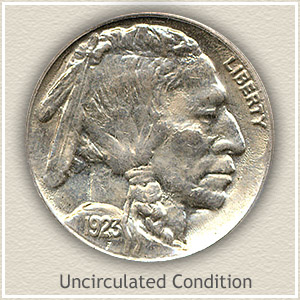 1923 Nickel Uncirculated Condition