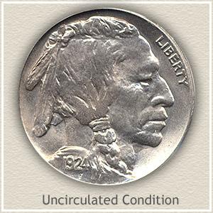 1924 Nickel Uncirculated Condition