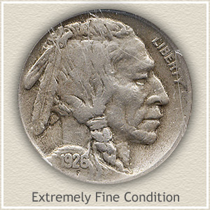 1926 Nickel Extremely Fine Condition