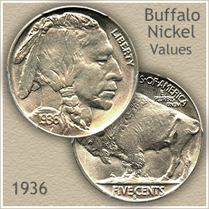 Uncirculated 1936 Nickel Value