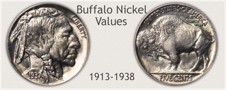 Uncirculated Buffalo Nickel Value