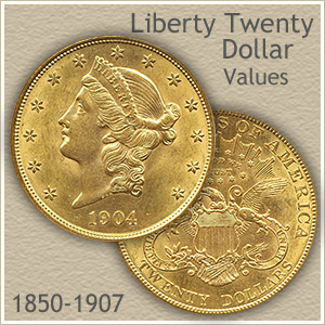 Liberty Twenty Dollar Gold Coin
