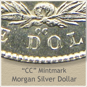 CC Mintmark Morgan Silver Dollar