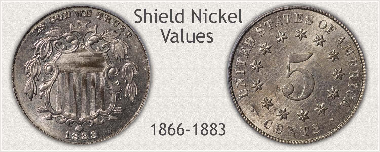 Uncirculated Shield Nickel Value