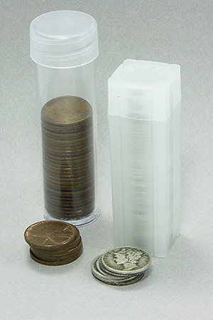 A Selection of Coin Tubes