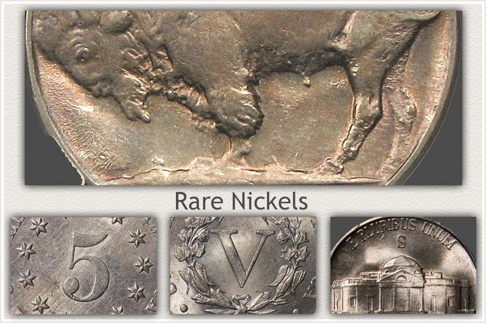 A Selection of Rare Nickels