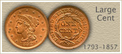 Go to...  American Large Cent Coin Values