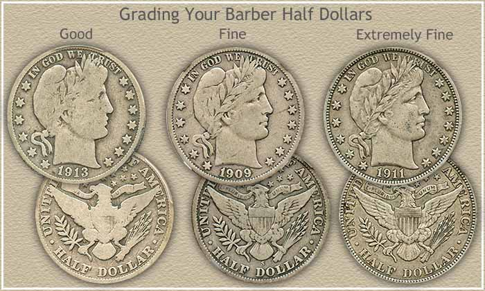 Rising Barber Half Dollar Value