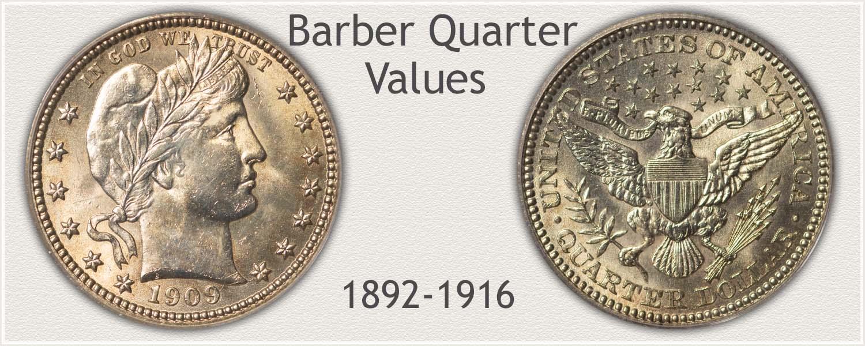 Uncirculated Barber Quarter