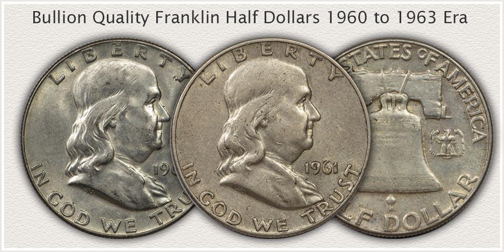 Bullion Quality Franklin Half Dollars