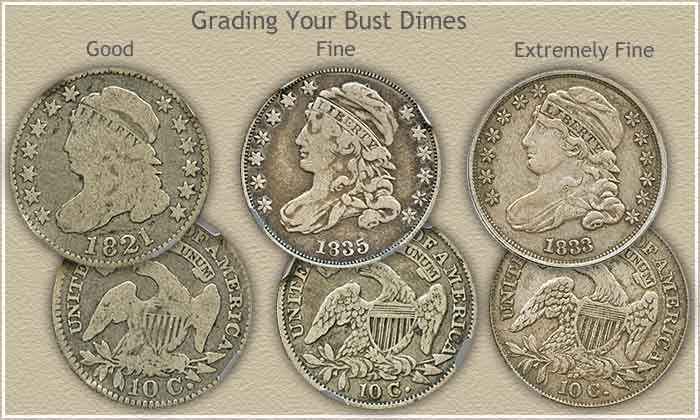 The Bust Dime Value Is Rising