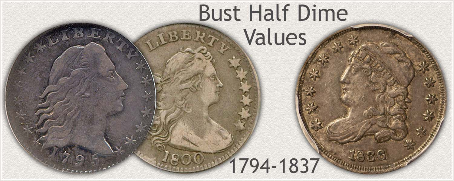 Uncirculated Bust Half Dime