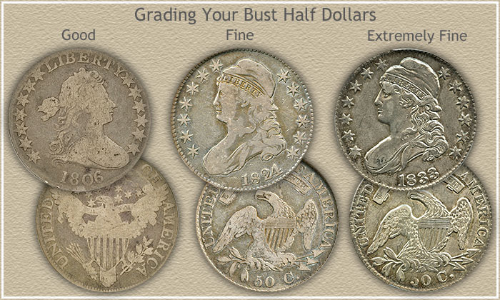 Bust Half Dollar Value Discover Their High Values