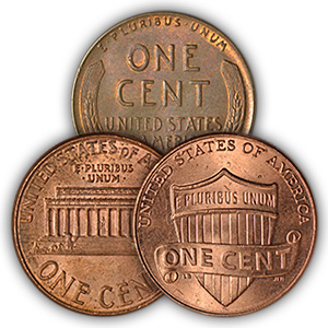 Circulated Lincoln Pennies