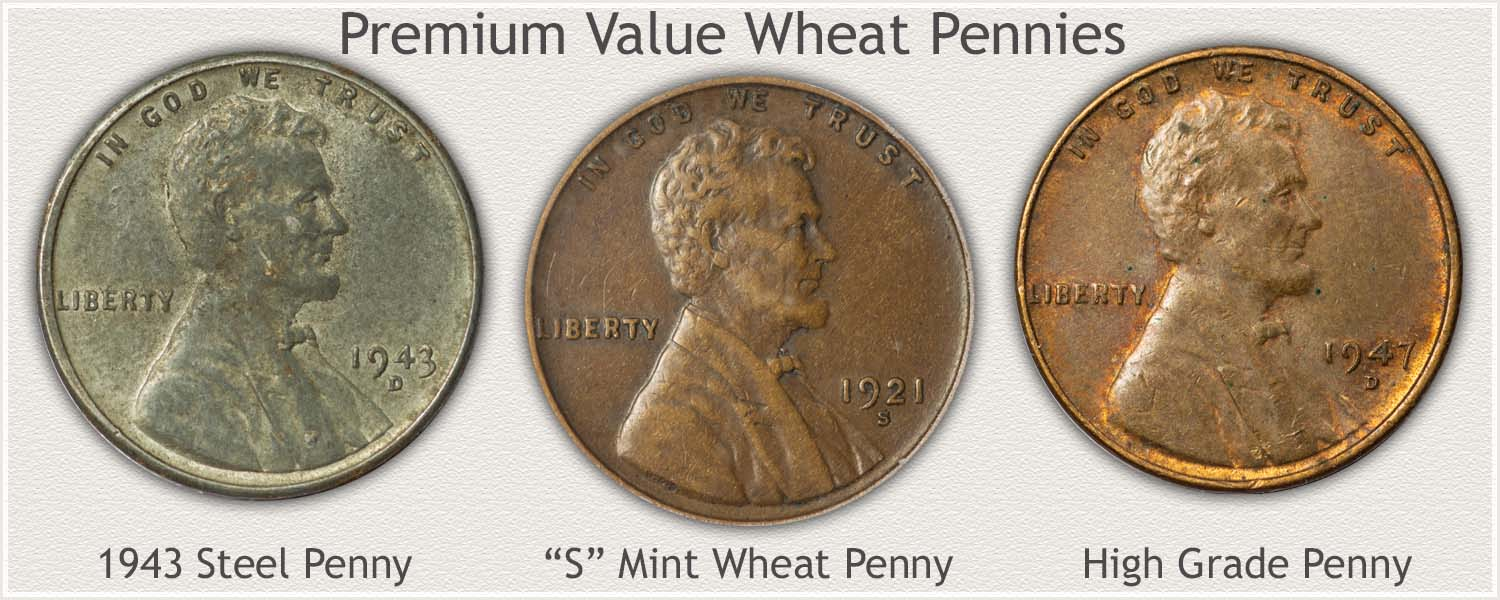 1943, S Mintmark, and High Condition Pennies