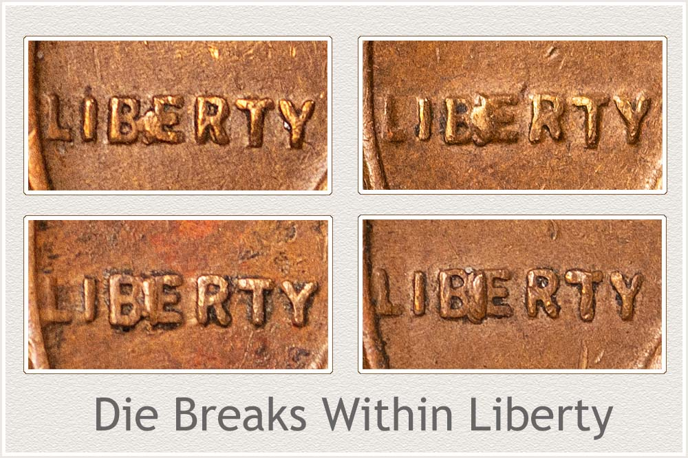 Wheat Cent Die Breaks