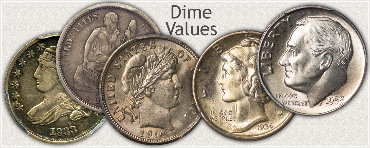 Dime Values Discover Your Valuable Dimes