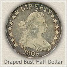 Draped Bust Half Dollar