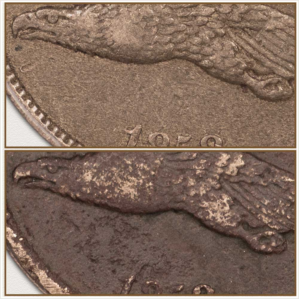 Comparison of Coin Surfaces