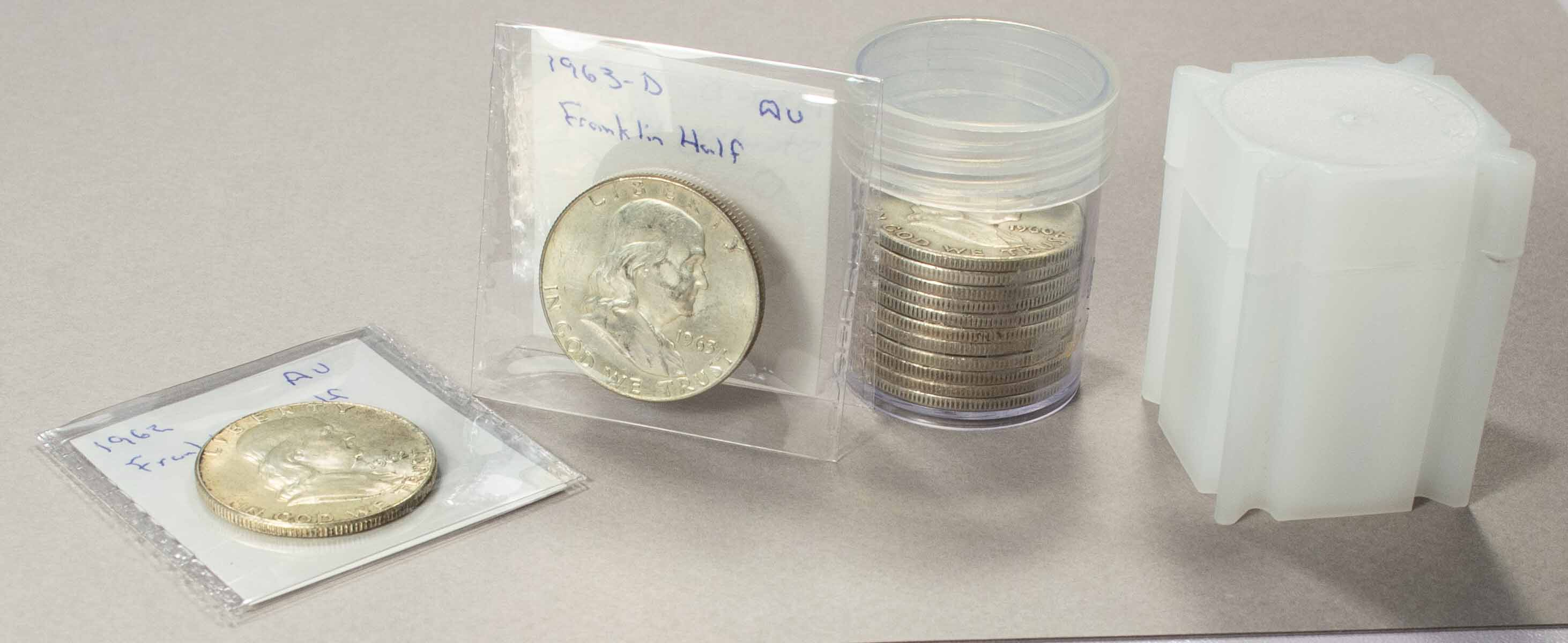 Saflips and Coin Tubes - Half Dollars