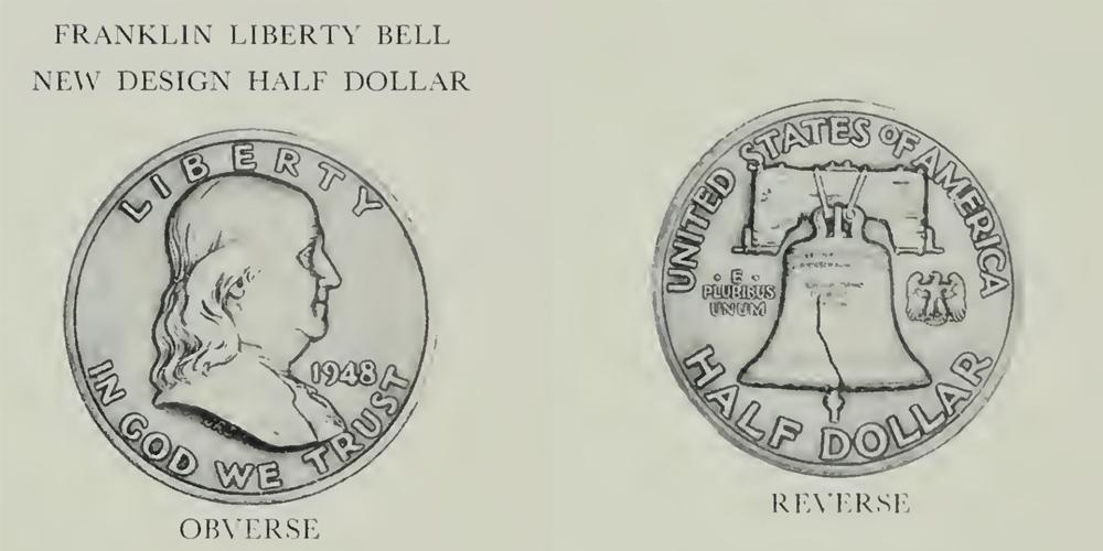 U.S. Mint Concept Image of Franklin Half Dollar