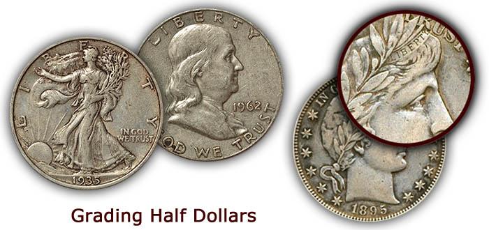 Grading Old Half Dollars
