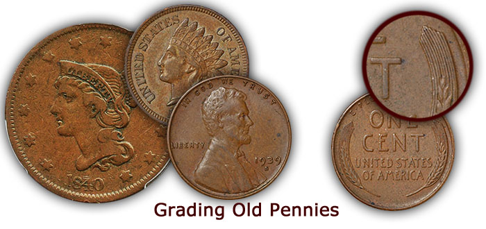 Grading Old Pennies