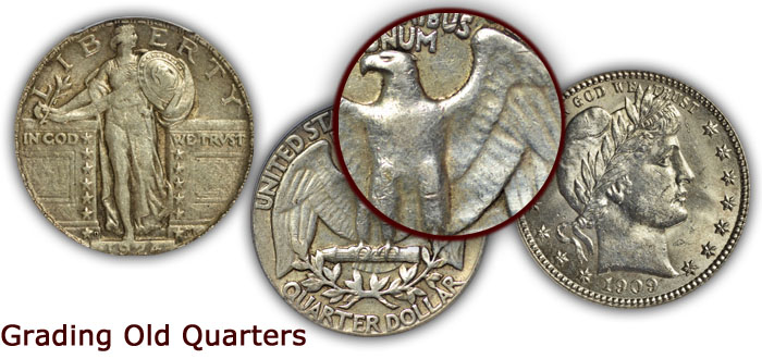 Grading Old Quarters