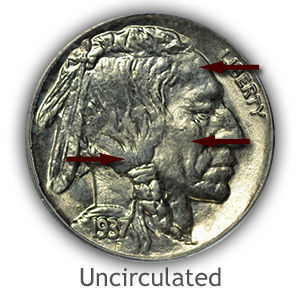 Grading Obverse Uncirculated Buffalo Nickels