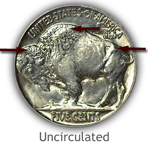 Grading Reverse Uncirculated Buffalo Nickels
