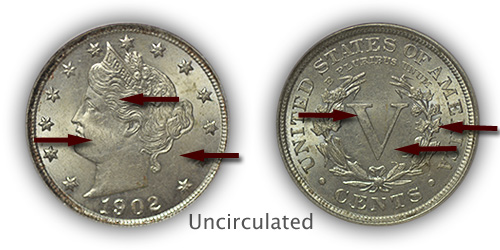 Grading Uncirculated Liberty Nickels