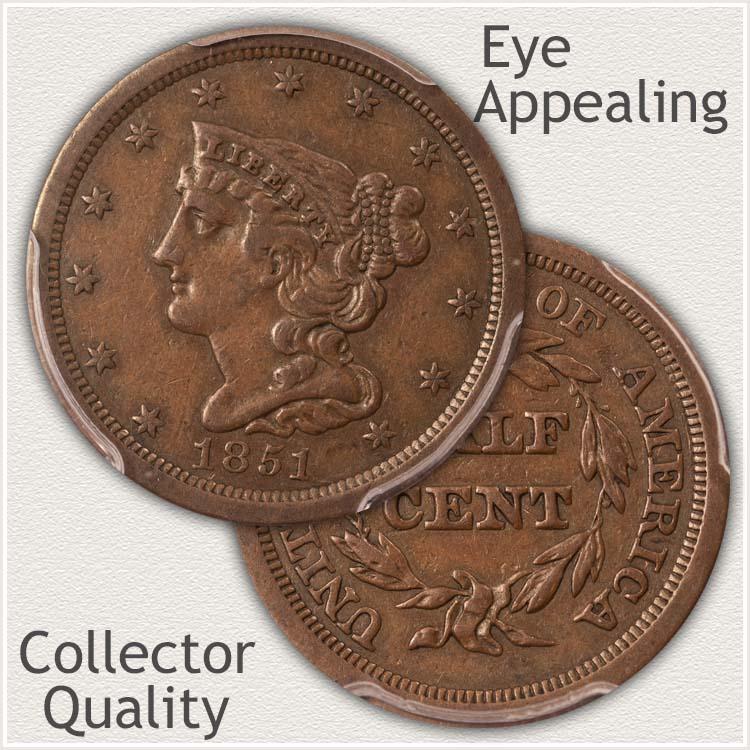 Eye Appealing Half Cent