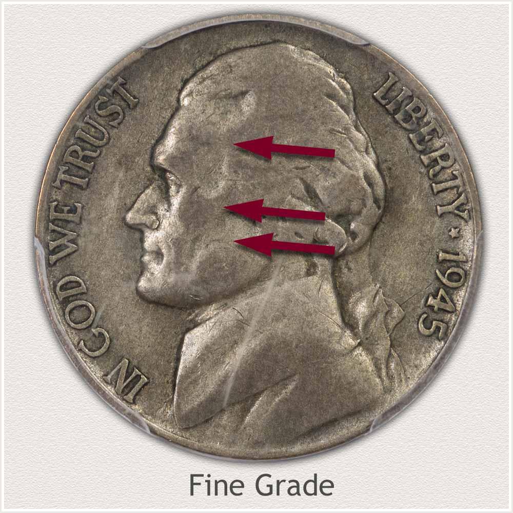 Jefferson Nickel Fine Grade