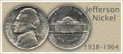 Go to...  Jefferson Nickel Values
