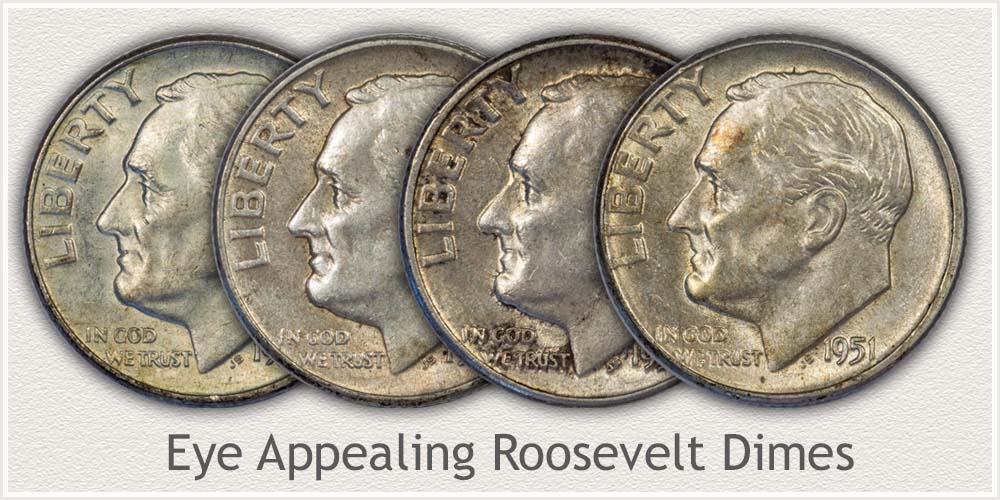Collectible Roosevelt Dimes